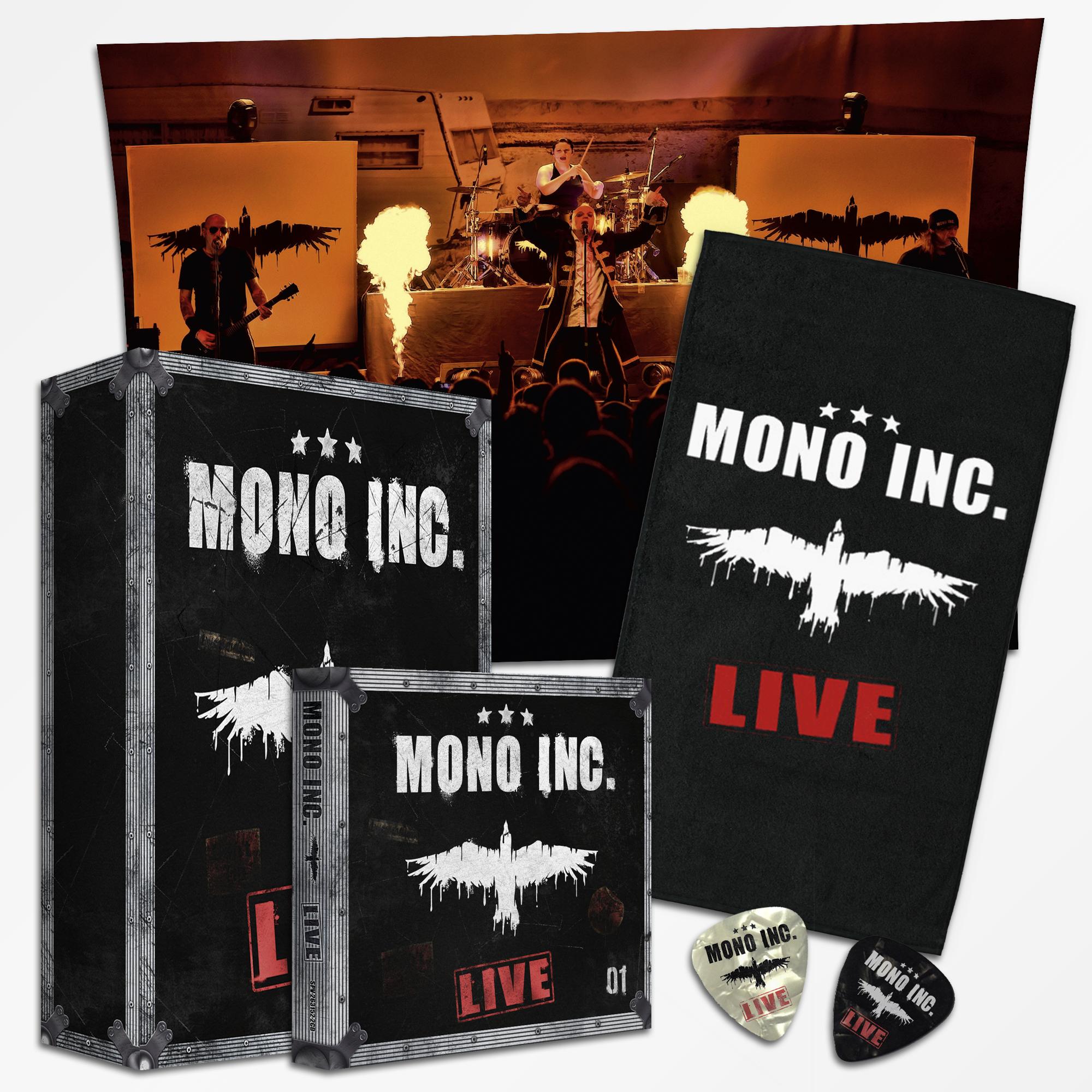 MONO INC. Live (limitierte Deluxe-Box)