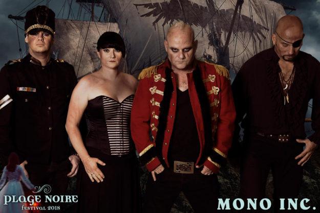 MONO INC Plage Noire 2018