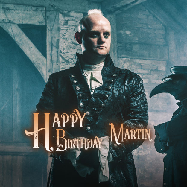 Happy birthday, Martin!