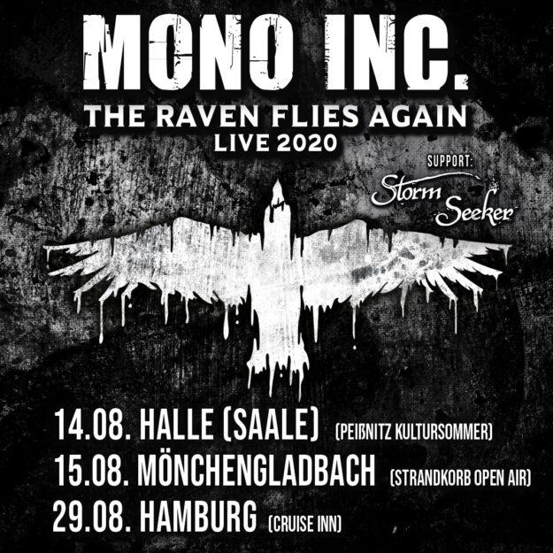 raven flies again | MONO INC. official website