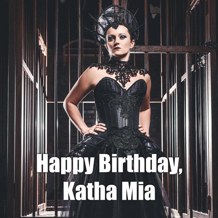 Happy Birthday, Katha Mia! - MONO INC.